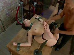 bubble butt hotty punished and dug