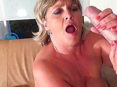 obese blond placid enjoys a vibrator and a jock