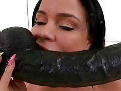 slutty doll lovely the smack of together marital-device and rod