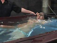 nadia styles benefits from dunked for punishment!