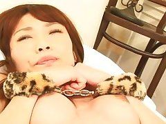 japanese milf fingered and creampied!