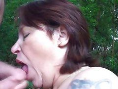 shlong addictive calm whore taking in it outdoors