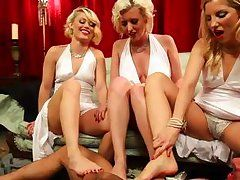 four hot sexy people gets into real hardcore action