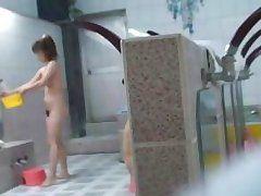a hidden camin the girl's shower