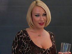 hot blonde milf goes cougar on a 18yo guy